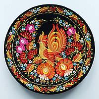 Тарелка петриковская роспись , диаметр 30 см., фото 1