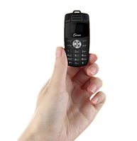 Мини мобильный маленький телефон Laimi BMW X6 (2Sim) BLACK, фото 1
