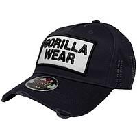 Gorilla Wear, Бейсболка Harrison Cap Black/White, фото 1