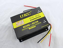 Преобразователь / инвертор UKC DC/DC 24v-12v 50A  / Понижающий DC-DC преобразователь