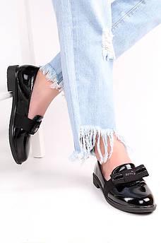 Туфли женские черные 124271M
