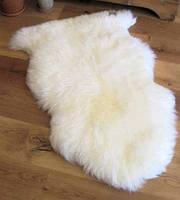 Одинарная овечья шкура, натуральная новозеландская овчина премиум качества в Украине