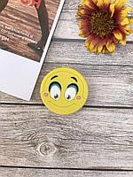 Попсокет Smile  для телефона смартфон  и планшетов, фото 1