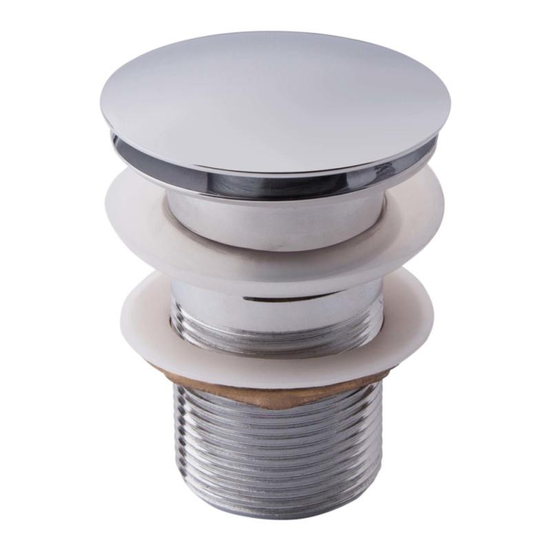 Донный клапан для раковины Potato P62 с переливом