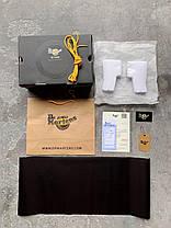 Зимние женские ботинки Dr. Martens Jadon Boot Patent Black без меха Доктор Мартинс Жадон черные без меха, фото 2