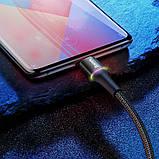Дата кабель Baseus Halo Data Micro USB Cable 3A (0.25m), фото 3