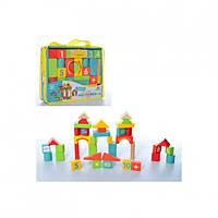 Деревянная игрушка Городок MD 1316 Деревянный конструктор Развивающая игрушка для детей