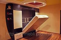 Шкафы-кровати трансформеры по индивидуальному проекту