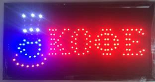 """Светодиодная рекламная вывеска """" ЧАЙ Кафе  """" / LED вывеска / табличка 48х25"""