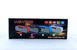 Компактная портативная колонка SPS WS Y69+BTс поддержкой Bluetooth