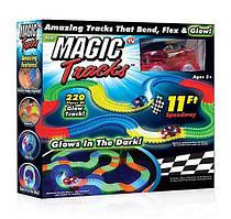 Світна гоночна дорога Magic tracks меджик трек, 220 деталей