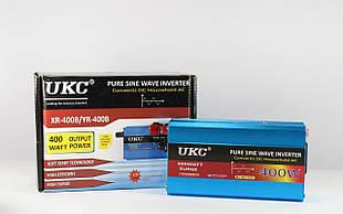 Преобразователь синусоида UKC  AC/DC sine 400W / Инвертор чистая синусоида