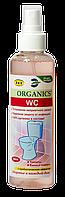 Пробиотический спрей для устранения неприятного запаха в туалетах, в ванных комнатах, Organics WC, 200 мл
