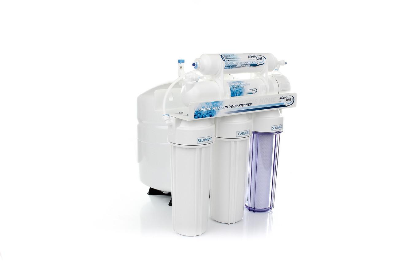Фильтр для воды Aqualine RO-5 обратного осмоса