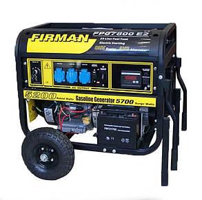 Генератор бензиновий FIRMAN FPG 7800E2 5-5,5 кіловат АКЦІЯ Доставка безкоштовно!, фото 2