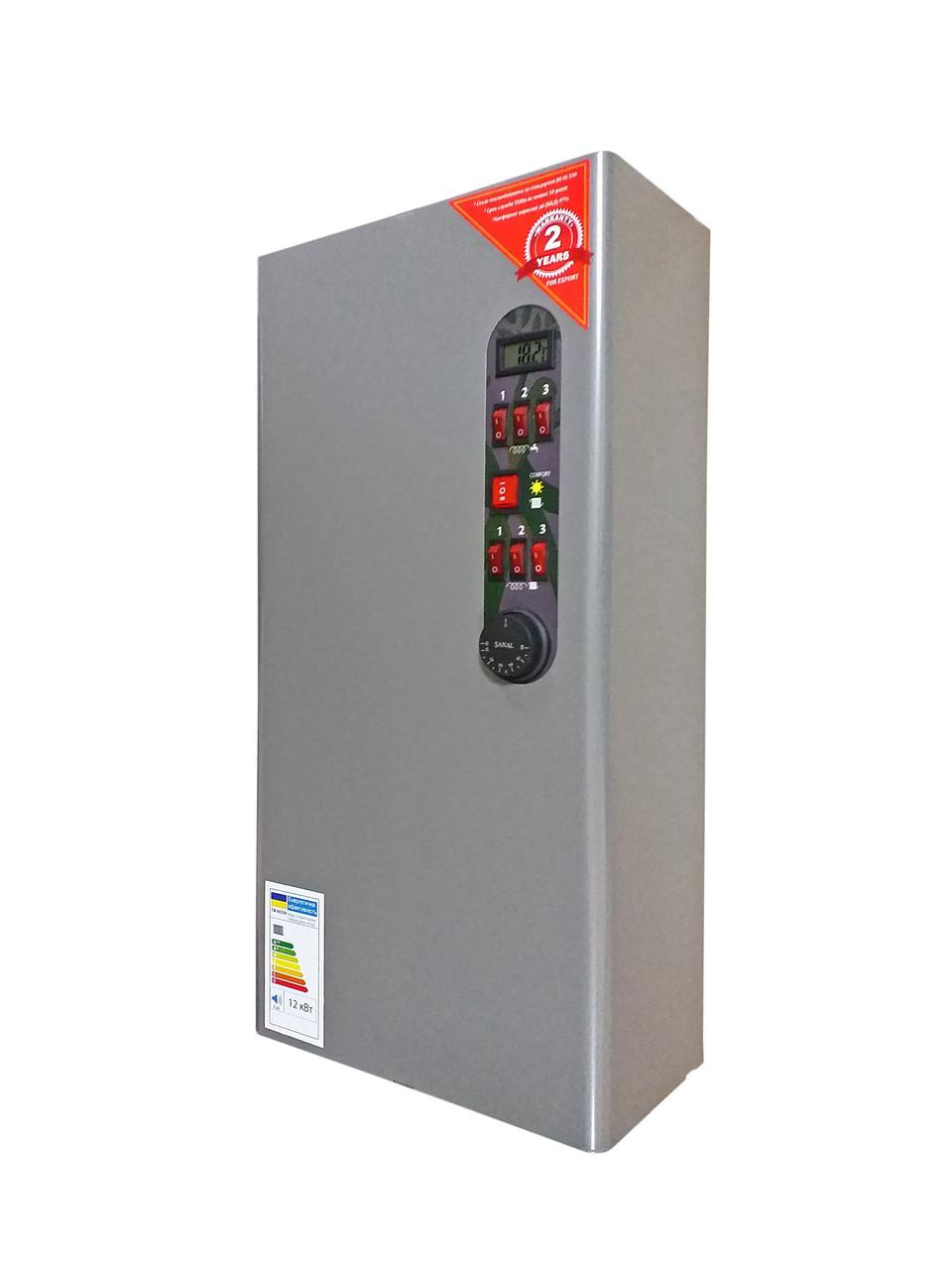 Электрокотел 2-х контурный WCS/WH 6 кВт (тих. ход, насос, 220/380 В)