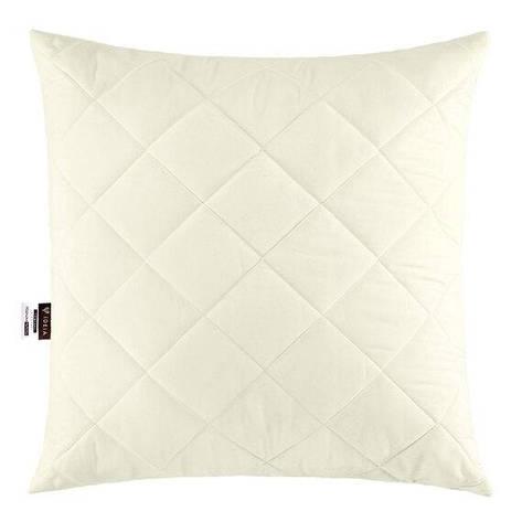 Подушка Ideia Comfort Standart+ 50*50 см микрофибра/силиконовые шарики молочная арт.8000013396.молоко, фото 2