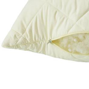 Подушка Ideia Comfort Standart+ 70*70 см микрофибра/антиаллергенное волокно молочная арт.8-11890, фото 2