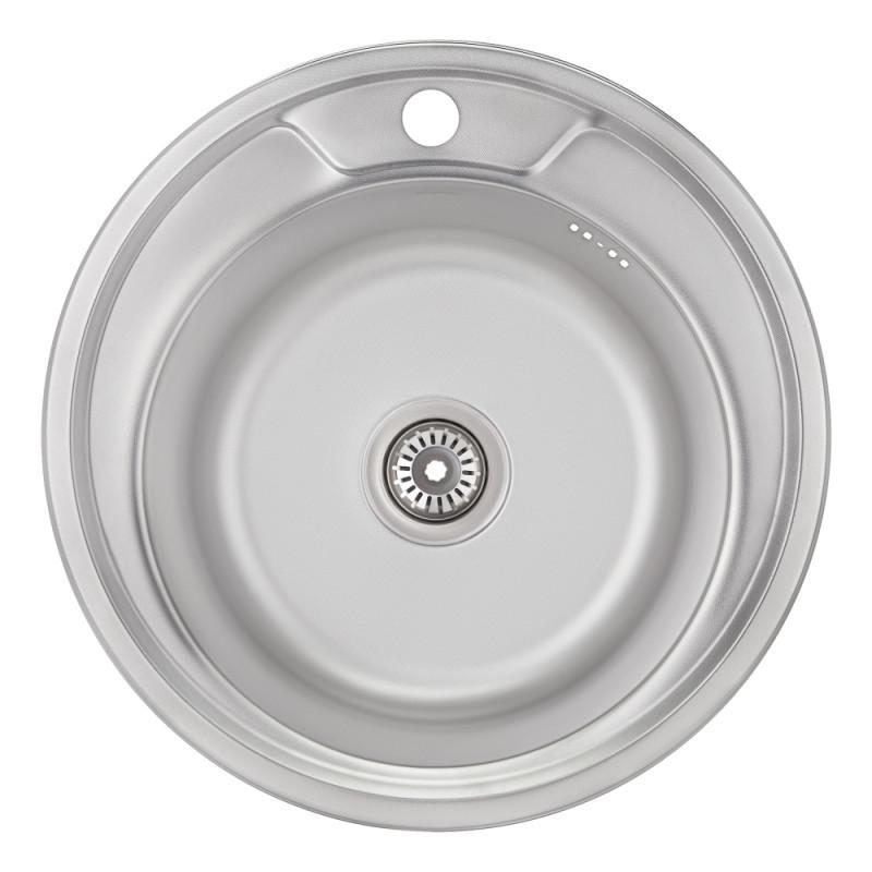 Кухонная мойка Imperial 490-A MicroDecor (IMP49008MICDEC)