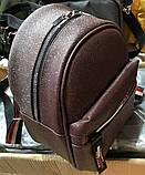 Женский рюкзак кожзам молодёжный городской Томмy с блеском., фото 2