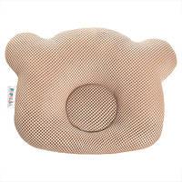 Подушка ортопедическая для новорожденных Ideia Baby Мишка 20*27 см арт.8000032377.беж