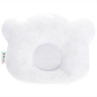 Подушка ортопедическая для новорожденных Ideia Baby Мишка 20*27 см арт.8000032377.білий