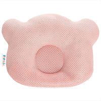 Подушка ортопедическая для новорожденных Ideia Baby Мишка 20*27 см арт.8000032377.пудра