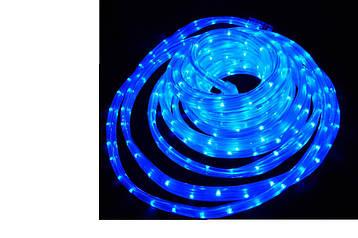 Гірлянда Дюралайт синя LED 100 метрів з контролером