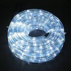 Гірлянда Дюралайт LED біла 100 метрів з контролером