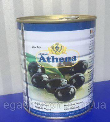 Маслини з кісточкою Азена Athena 820/400g 12шт/ящ ж/б (Код : 00-00000953)