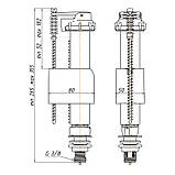 Наполнительный механизм для унитаза ANI Plast WC5530, фото 2