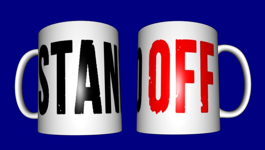 Кружка з принтом ігри / чашка для геймера Стэндоф (Standoff)