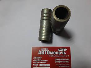 Соединитель шланга Д=27 металлический