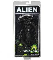 Игровая коллекционная Фигурка Чужой Ксеноморф, подвижная, высота 23 см - Xenomorph, Alien, Series 2, Neca