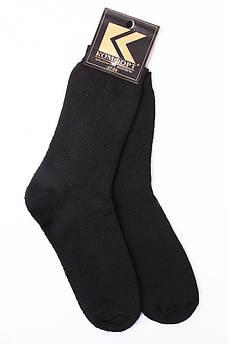 Носки мужские махра черные размер 27-29 М002