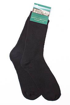 Носки мужские махра черные размер 41-45 М001