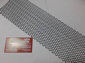 Сетка для номерных рамок стальная черная 520х115 мм пр-во Vitol