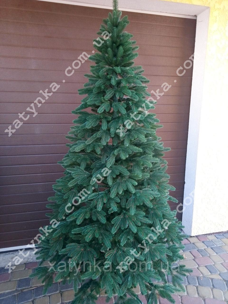 Литая елка Премиум 2.30м. зеленая / Лита ялинка / Ель