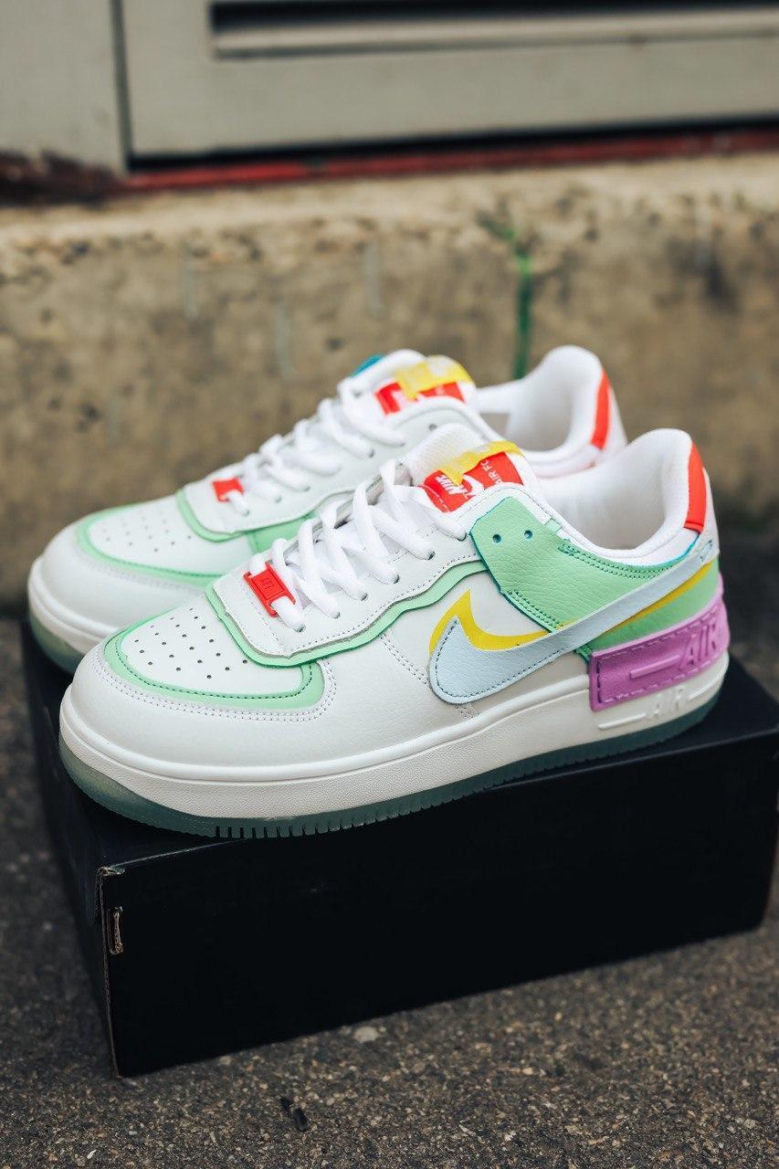 Кроссовки женские Nike Air Force Shadow multi-Color