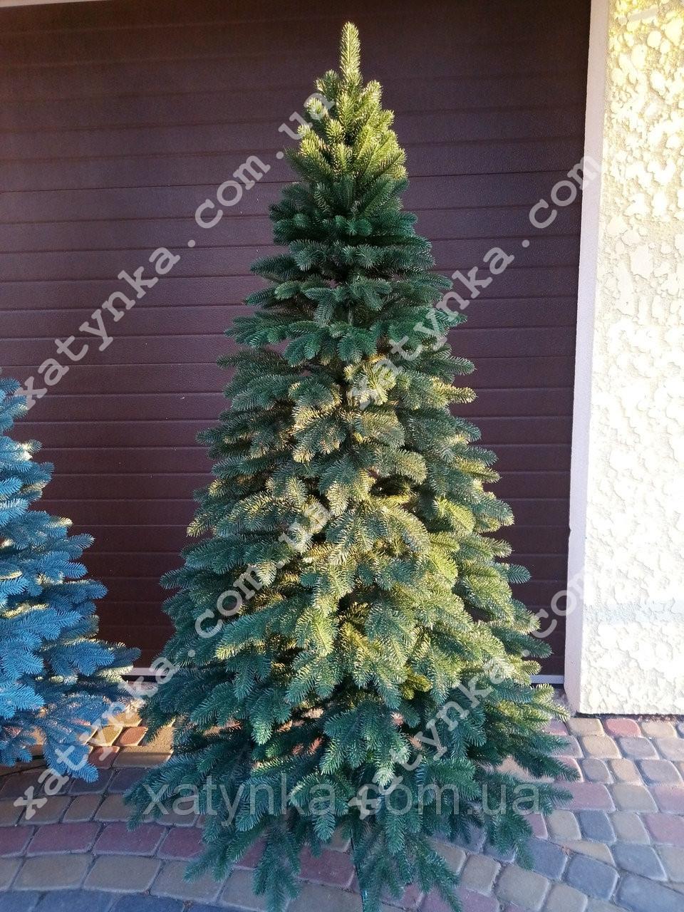Литая елка Елитная 2.50м. зеленая// Лита ялинка / Ель