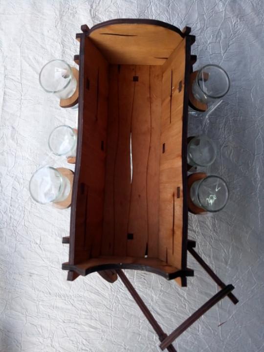 Міні-бар Фіра з чарками