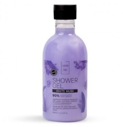 Lavish care shower gel white musk - Гель для душа с ароматом цветка мускуса, 300 мл