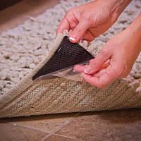 🔝 Власники - липучки для килимів Ruggies 8 шт., Ковродержателі з доставкою по Києву та Україні | 🎁%🚚