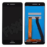 Дисплей HTC Desire 728 с тачскрином в сборе, цвет черный