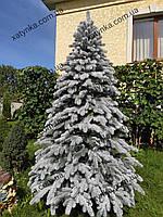 Литая елка Елитная Заснеженная 2.10м  / Лита ялинка Засніжена / ель, фото 1