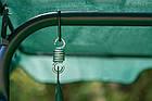 Садова гойдалка 3-х місна FunFit Relax з дашком, фото 10