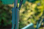Садова гойдалка 3-х місна FunFit Relax з дашком, фото 8