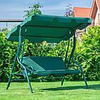 Садова гойдалка 3-х місна FunFit Relax з дашком, фото 6