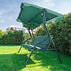 Садова гойдалка 3-х місна FunFit Relax з дашком, фото 5