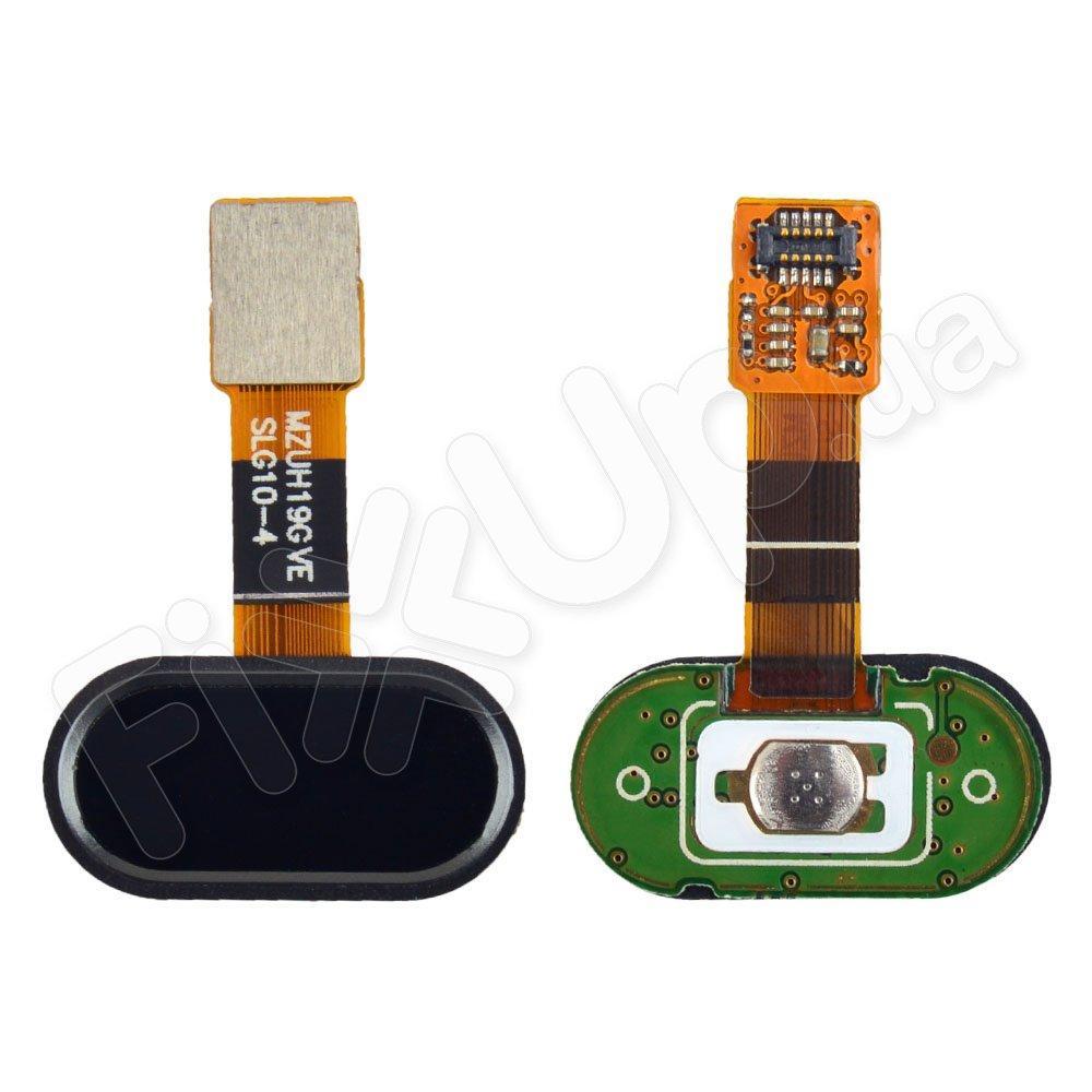 Шлейф для Meizu M5s с внешней кнопкой Home, цвет черный